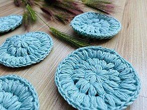 Úžitkový textil - Bella odlíčovacie tampóny - 7ks/sada mentolové - 12034879_