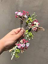 """Ozdoby do vlasov - Kvetinová vlásenka """"dotkni sa dúhy"""" - 12036165_"""