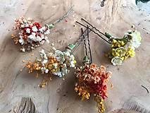 """Ozdoby do vlasov - Kvetinová vlásenka """"dotkni sa dúhy"""" - 12036166_"""