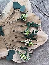 """Ozdoby do vlasov - Kvetinová vlásenka """"dotkni sa dúhy"""" - 12036167_"""