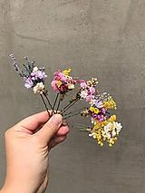"""Ozdoby do vlasov - Kvetinová vlásenka """"dotkni sa dúhy"""" - 12036170_"""