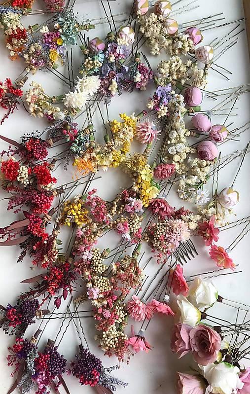 """Kvetinová vlásenka """"dotkni sa dúhy"""""""