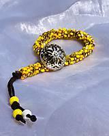 Náramky - Náramok žltý - 12033898_