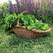 Košíky - kvetinový košík  - 12035578_
