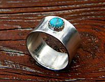 Prstene - S tyrkysem - 12035852_