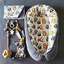 """Textil - Set pre bábätko """"Lesní kamoši 3"""" - 12040446_"""
