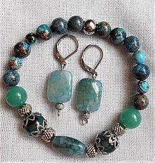 Sady šperkov - Achátové kúzlenie - 12038710_