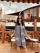 Šaty - FNDLK úpletové šaty 464 RVdL - 12037645_