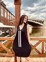 Šaty - FNDLK úpletové šaty 465 BV - 12037672_