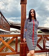 Šaty - FNDLK úpletové šaty 466 RVdL - 12037702_