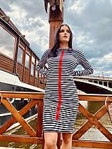 Šaty - FNDLK úpletové šaty 466 RVdL - 12037704_