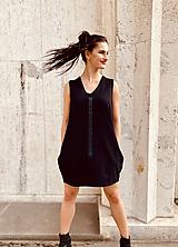 Šaty - FNDLK úpletové šaty 467 BV - 12037733_