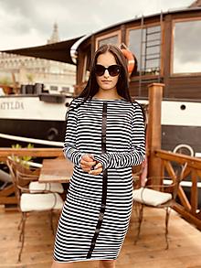 Šaty - FNDLK úpletové šaty 464 RVdL - 12037644_