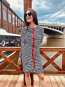 Šaty - FNDLK úpletové šaty 466 RVdL - 12037703_