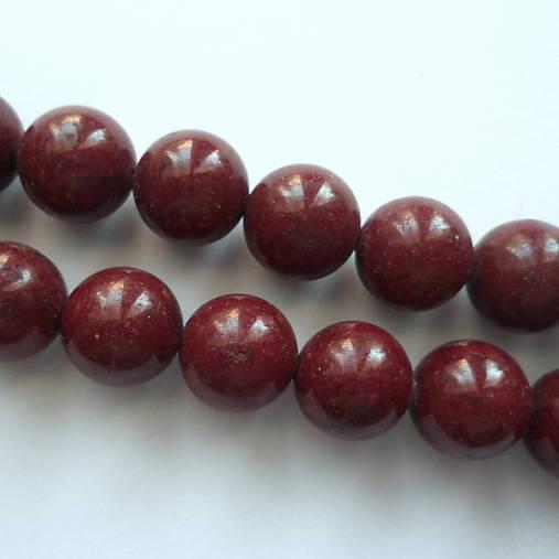 Horský jadeit-1ks (12mm-hnedý)