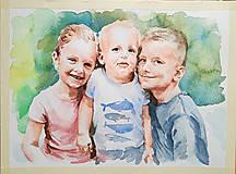 Obrazy - Portréty na objednávku - 12037560_