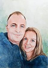 Obrazy - Portréty na objednávku - 12037565_