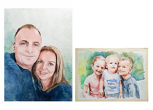 Portréty na objednávku