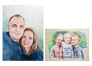 Obrazy - Portréty na objednávku - 12037604_