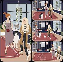Grafika - KAMOŠKY dvojportrét na želanie  (počítačová grafika) - 12039924_