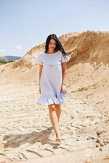 Šaty - Ľanové šaty Capri - 12037764_