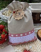 Úžitkový textil - Vidiecke vrecúška - 12040184_