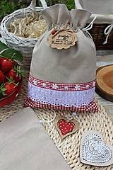 Úžitkový textil - Vidiecke vrecúška - 12040185_