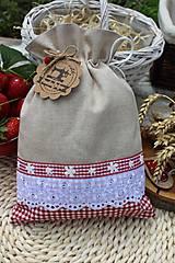 Úžitkový textil - Vidiecke vrecúška - 12040186_