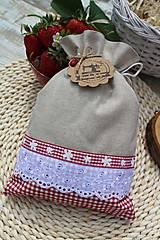 Úžitkový textil - Vidiecke vrecúška - 12040187_