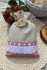 Úžitkový textil - Vidiecke vrecúška - 12040188_