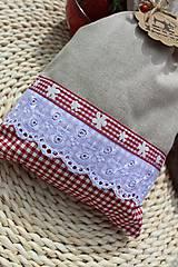 Úžitkový textil - Vidiecke vrecúška - 12040189_