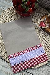 Úžitkový textil - Vidiecke vrecúška - 12040190_