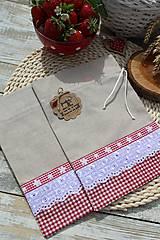 Úžitkový textil - Vidiecke vrecúška - 12040191_