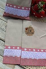 Úžitkový textil - Vidiecke vrecúška - 12040193_