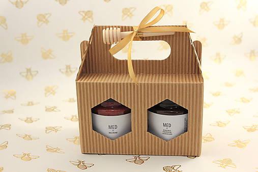 Darčekové balenie 2 ochutených medov