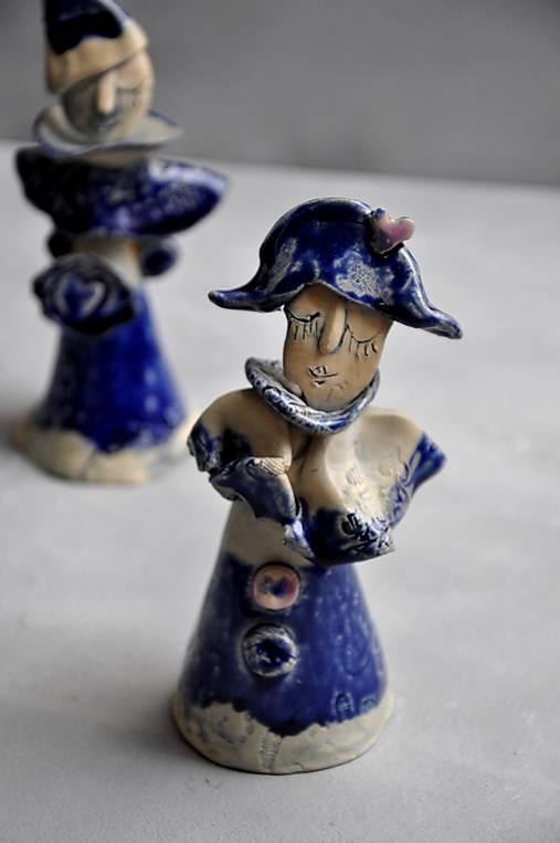 klaun, Harlekin v modrom