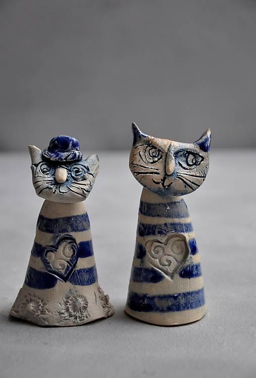 mačka mačička modrá pásikavá