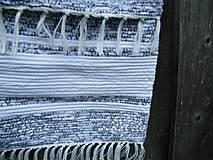Iné tašky - Tkaná taška bielo-sivá 2 - 12040689_