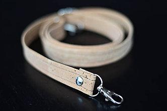 Iné tašky - Popruh (korková koža) - 12043574_