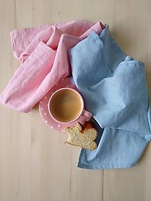 Úžitkový textil - Ľanové utierky - 12041264_