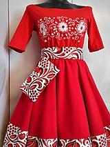 """Opasky - FLORAL FOLK """"Red & White"""", opasok - 12041684_"""