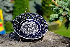 Nádoby - Kobaltový tanierik - 12041847_