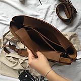 Batohy - Kožený batoh Colin (crazy tmavohnedý) - 12041151_