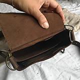 Iné tašky - Kožená mini-brašňa Travis - 12041227_