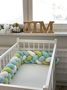 Textil - Detský pletený mantinel - 12044082_