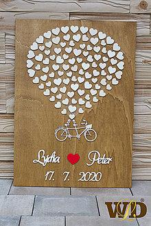 Obrazy - Svadobný strom - bike 100 ľudí - 12043486_