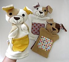 Hračky - Maňuška psík - na objednávku - 12043412_