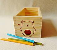 Krabičky - Detský zásobník na drobnosti - 12043133_