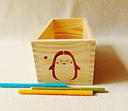 Krabičky - Detský zásobník na drobnosti - 12043139_