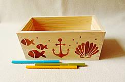 Krabičky - Detský zásobník na drobnosti - 12043140_